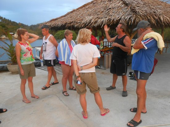 Fishermen's Cove:                                     brefing