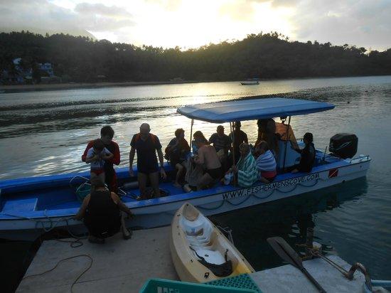 Fishermen's Cove:                                     il ritorno