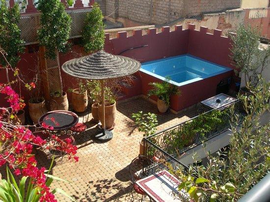 Riad Maud - il terrazzo