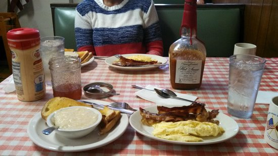 Jim's Cafe:                                     breakfast!