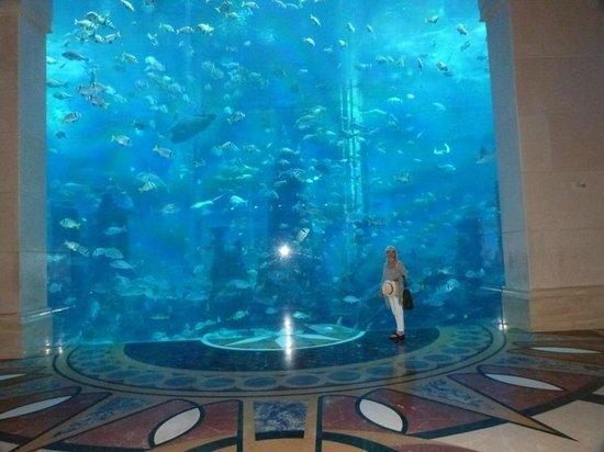Atlantis, The Palm:                   On the way to dining room