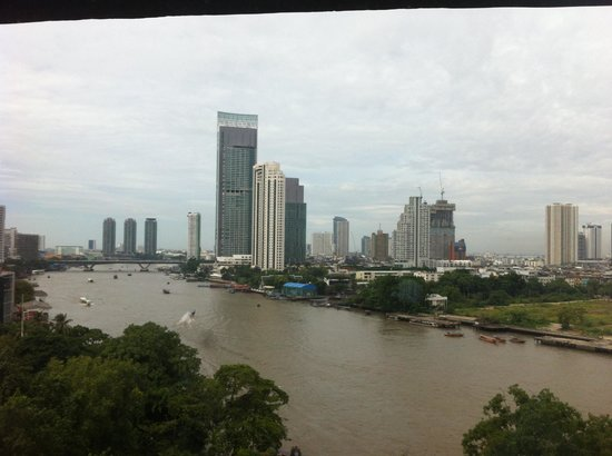 Royal Orchid Sheraton Hotel & Towers:                   river from the room