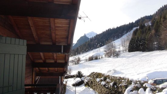 Chalet Morzine Luxury Chalets, Chalet Morzine:                   What a view to wake up to