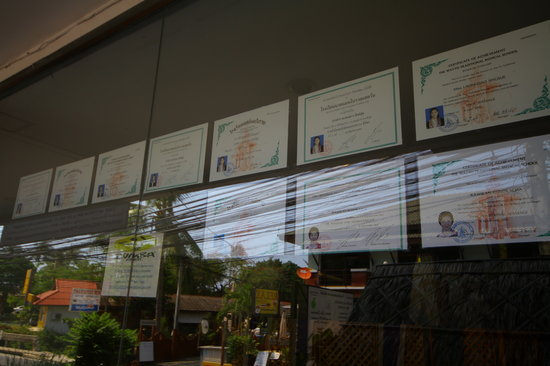 Apple's Spa Experience:                                     Some of Apple's certificates