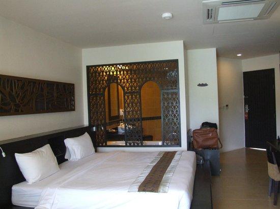 Anyavee Tubkaek Beach Resort:                   Part of our room