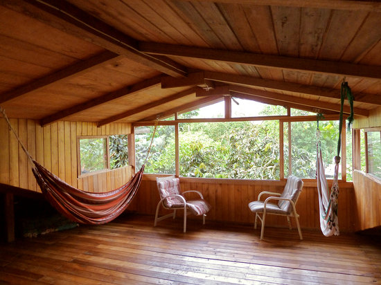 Rubby Hostal: Attic hammocks to get away from it all
