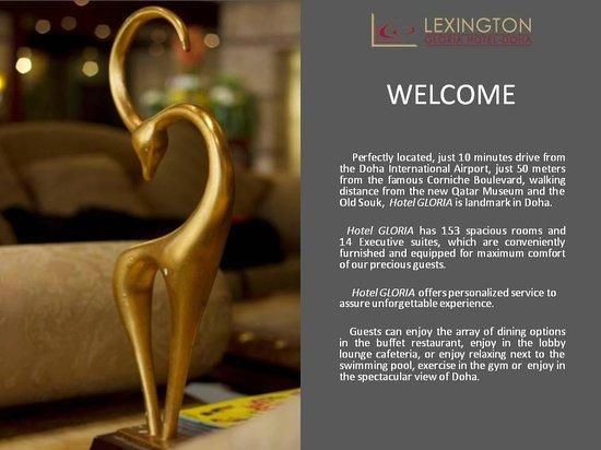 Lexington Gloria Hotel Doha: Lobby