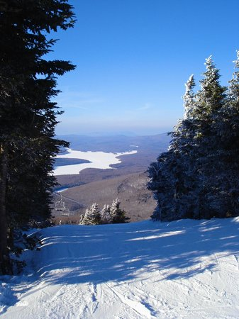 Mount Snow Resort:                   Mount Snow View in the Morning