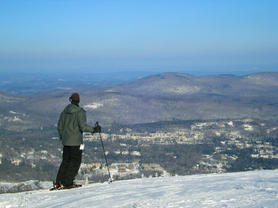 Mount Snow Resort:                   Mount Snow View