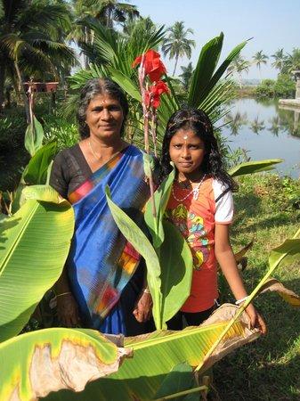 Shravanam Greens :                   In the garden