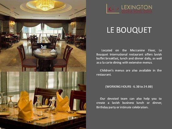 Lexington Gloria Hotel Doha: Restaurant