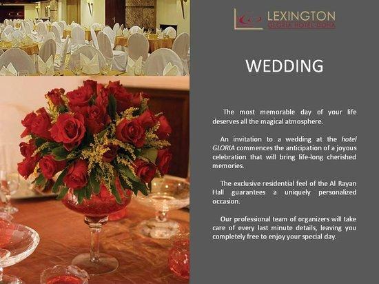 Lexington Gloria Hotel Doha: Function