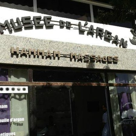 Le Musée de l'argan :                                     Musée de l'argan