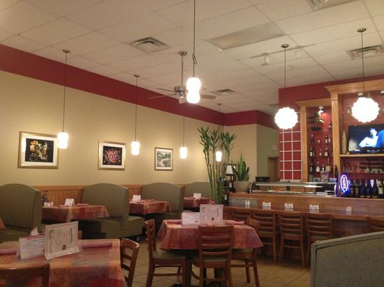 Far East Cuisine:                   Dining Area