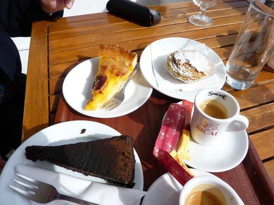 Agua Mel:                   our choice of dessert :-)