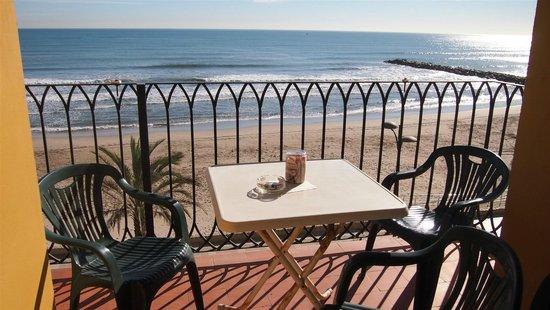 Apartamentos Valencia Portsaplaya :                   the balcon