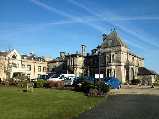 Rookery Hall Hotel & Spa: the front of the hotel