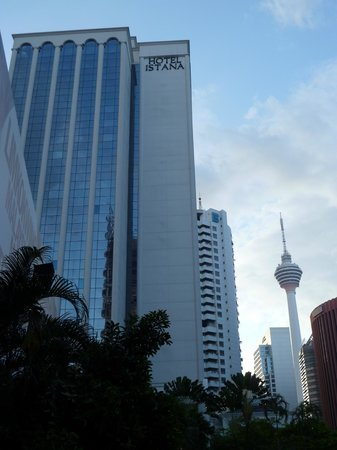Hotel Istana:                   Within walking distance to everywhere inc. Communications Tower
