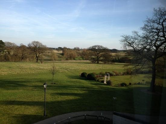 Rookery Hall Hotel & Spa: View from room 407