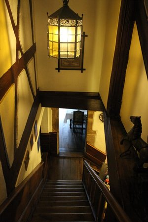 Romantik Hotel Greifen Post: Treppenhaus