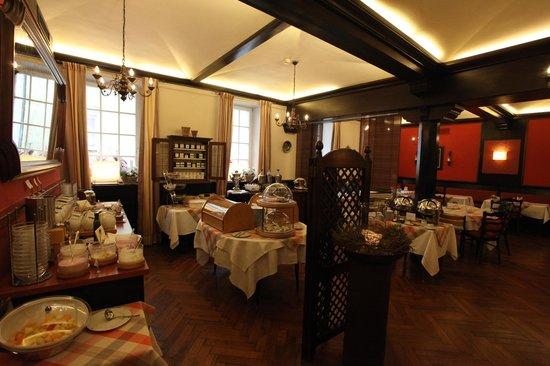 Romantik Hotel Greifen Post: Frühstück