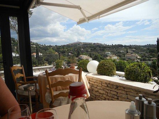 Hotel Alain Llorca:                   vue panoramique de la terasse