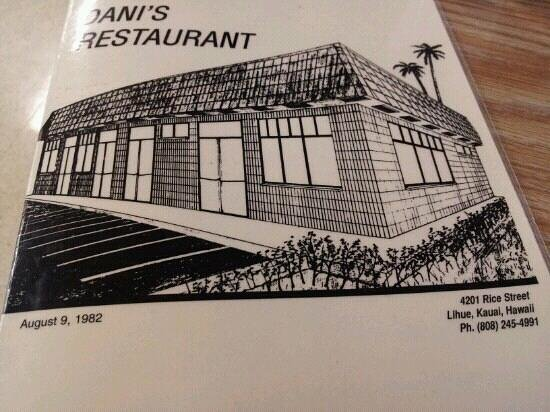 Dani's Restaurant:                   local homestyle cooking