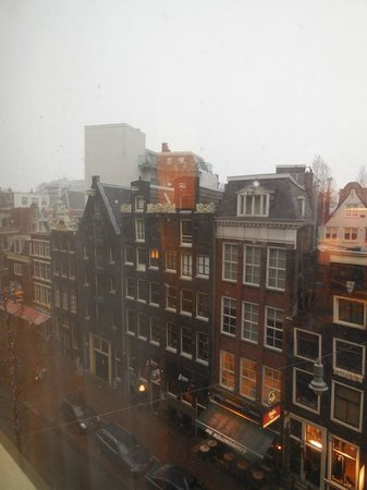 NH City Centre Amsterdam:                   View from the room