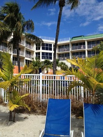 Courtyard by Marriott Key Largo: view from the water
