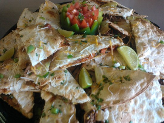 Tomato & Cheese Co: Catering: Quesadillas