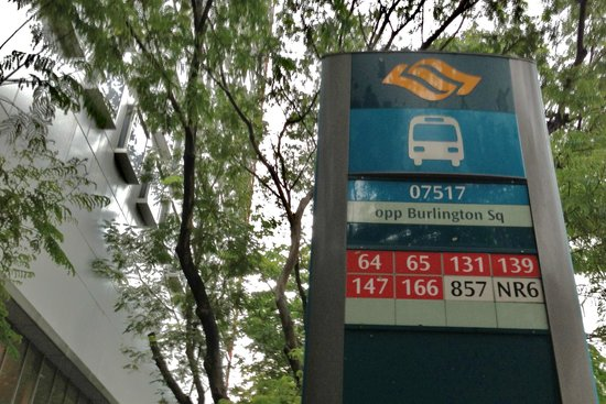 Bus routes in front of hotel - Picture of ibis Singapore on ...