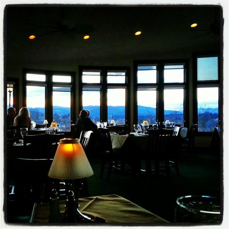 Carlos Brazilian International Cuisine:                                                       The view from our table