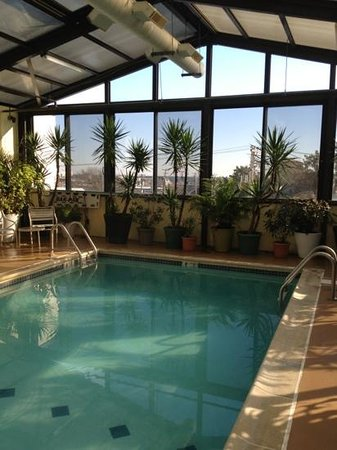 Brighton Suites Hotel:                   Heated indoor pool