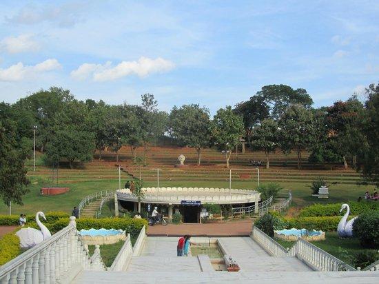 Art of Living International Center:                   Garden area around meditation centre