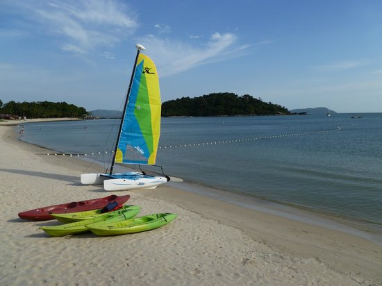 Berjaya Langkawi Resort - Malaysia:                   Private beach with water sports available