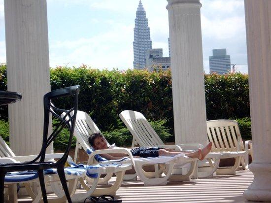 Sunway Putra Hotel:                   pool area