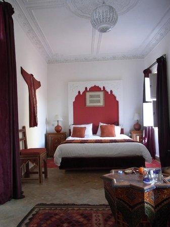 Riad La Terrasse des Oliviers:                   Bedroom