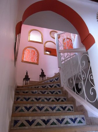 Riad La Terrasse des Oliviers:                   Lovely features