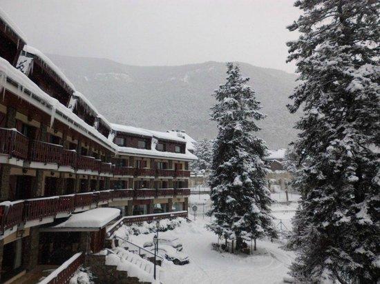 Hotel Coma: Vistas desde habitacion