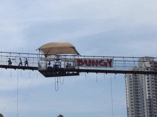 Sunway Putra Hotel:                   Bungy Jumping at Sunway Lagoon Resort (sister hotel)