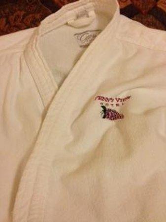 Penn's View Hotel:                   Robe
