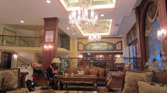 Deluxe Golden Horn Sultanahmet Hotel:                   Hotel Lobby