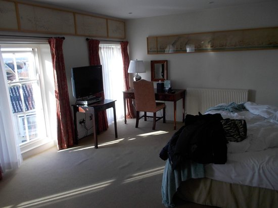 Southwold, UK:                   Nice room, shame about the curtains & carpet