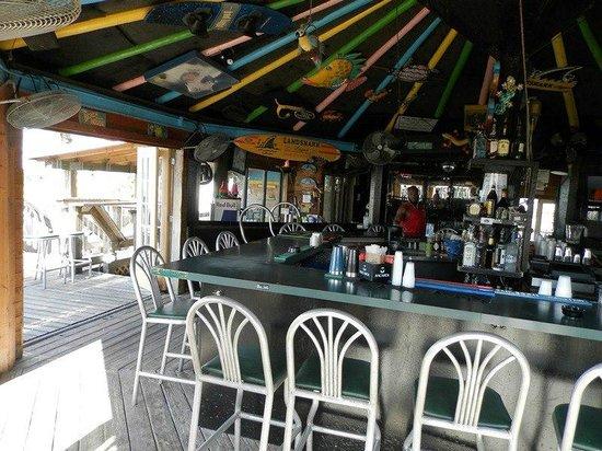 Jimmy B's Beach Bar:                   Inside Jimmy B's