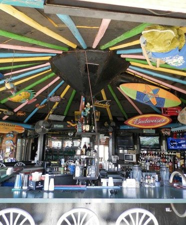 Jimmy B's Beach Bar:                   Inside Jimmy B's