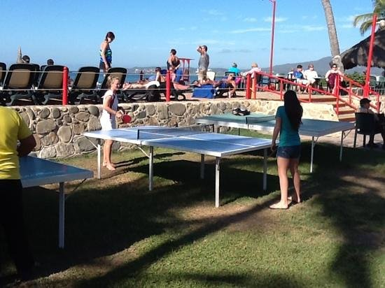 Royal Decameron Complex: table tennis at RD