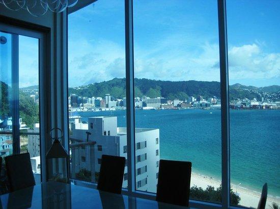 Oriental Bay Bed & Breakfast:                   view