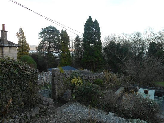 Part of the gardens at Hampsfell House Hotel