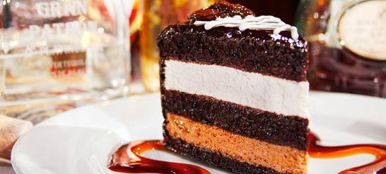 Texas de Brazil: Chocolate Mousse Cake