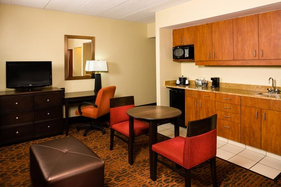 Hampton Inn Columbia: Guest Room King Suite with Whirpool Bath